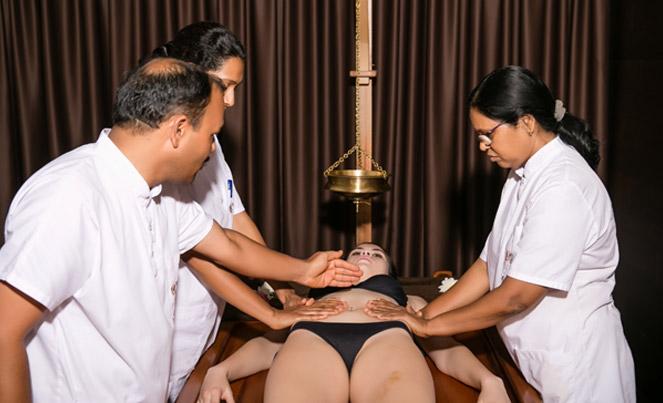 Pizhichil sarvanga | Ayurveda Clinic Bansko