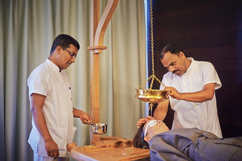 Ayurveda Clinique Bansko Takradara procedure
