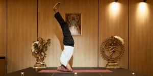 Supported Headstand Pose (Salamba Sirsasana)