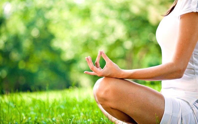 Yoga meditation and tranquility outdoors | Ayurveda Bansko