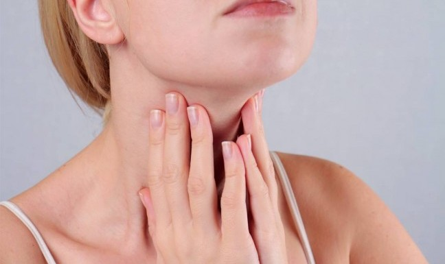 Problems of the throat - laryngitis