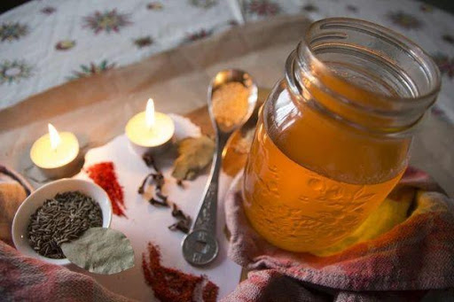 How to make ghee oil
