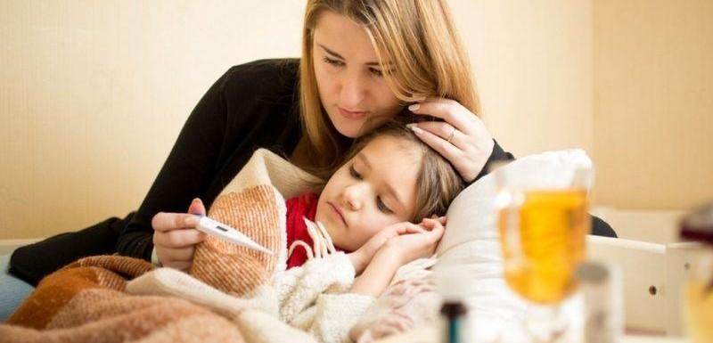 Weak immunity in children