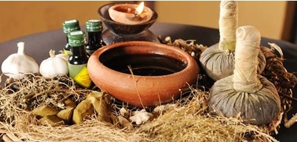 Treatment of a run with Ayurveda