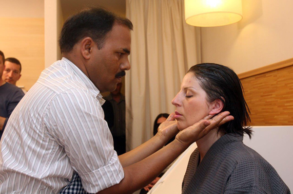 Treatment of compulsive-obsessive syndrome with Ayurveda
